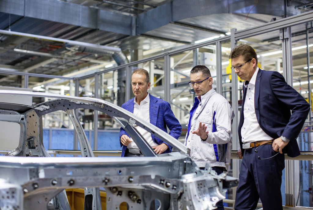 Volkswagen has already built 200 pre-production vehicles of the