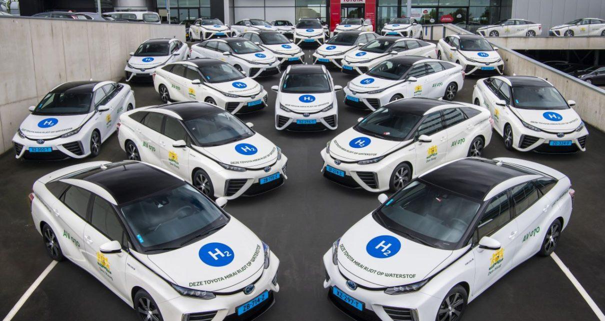 Vodikove-taxi-v-Nizozemi